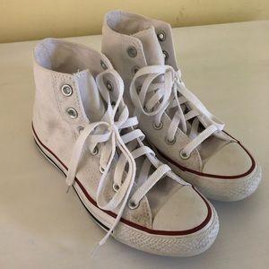 White converse!!